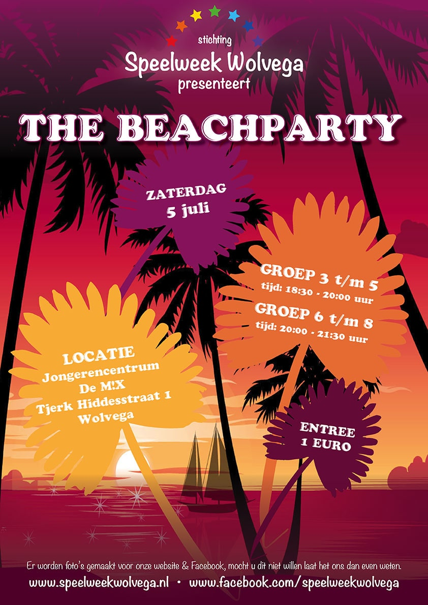 the beachparty | Speelweek Wolvega