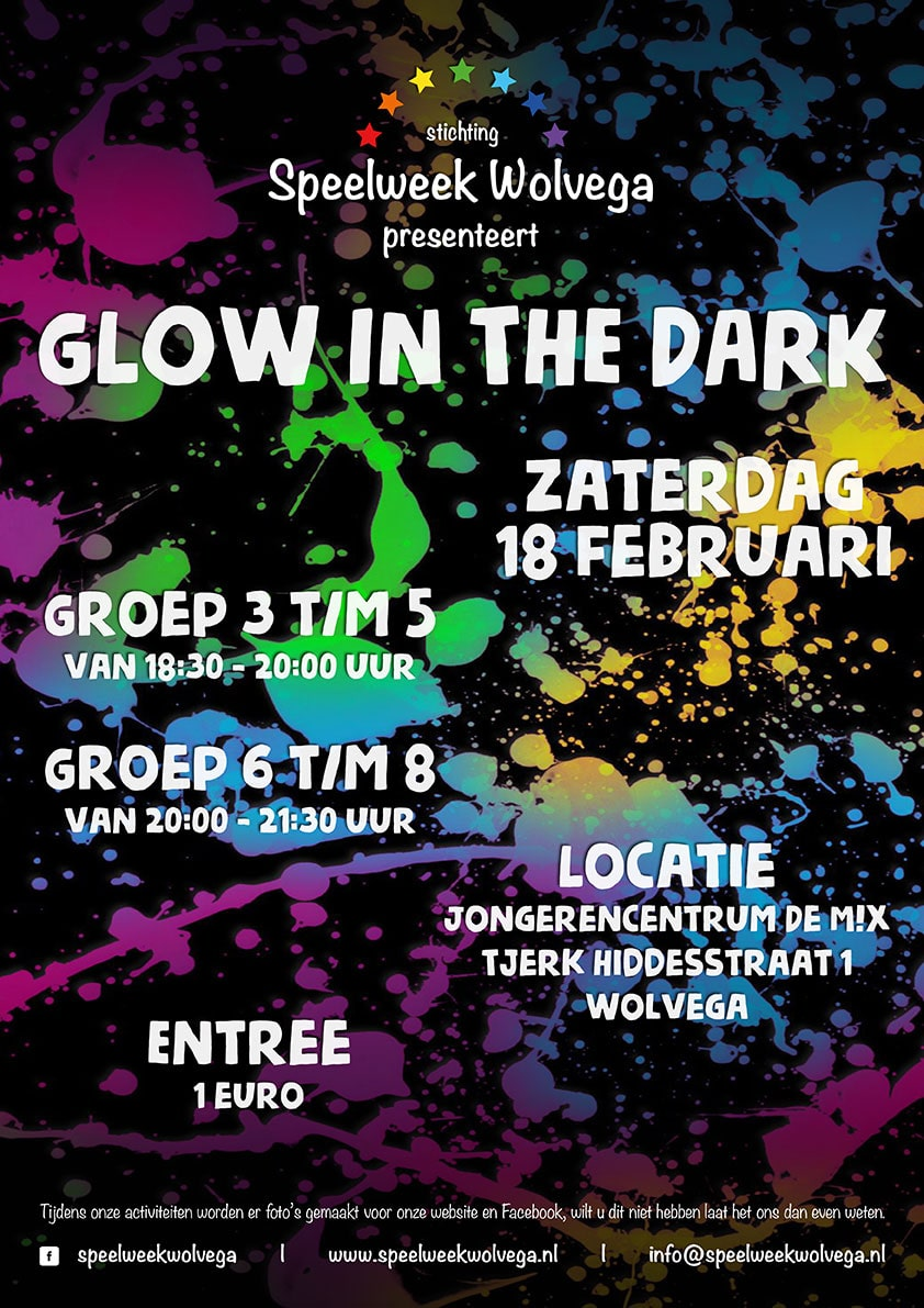 Glow in the Dark | Speelweek Wolvega