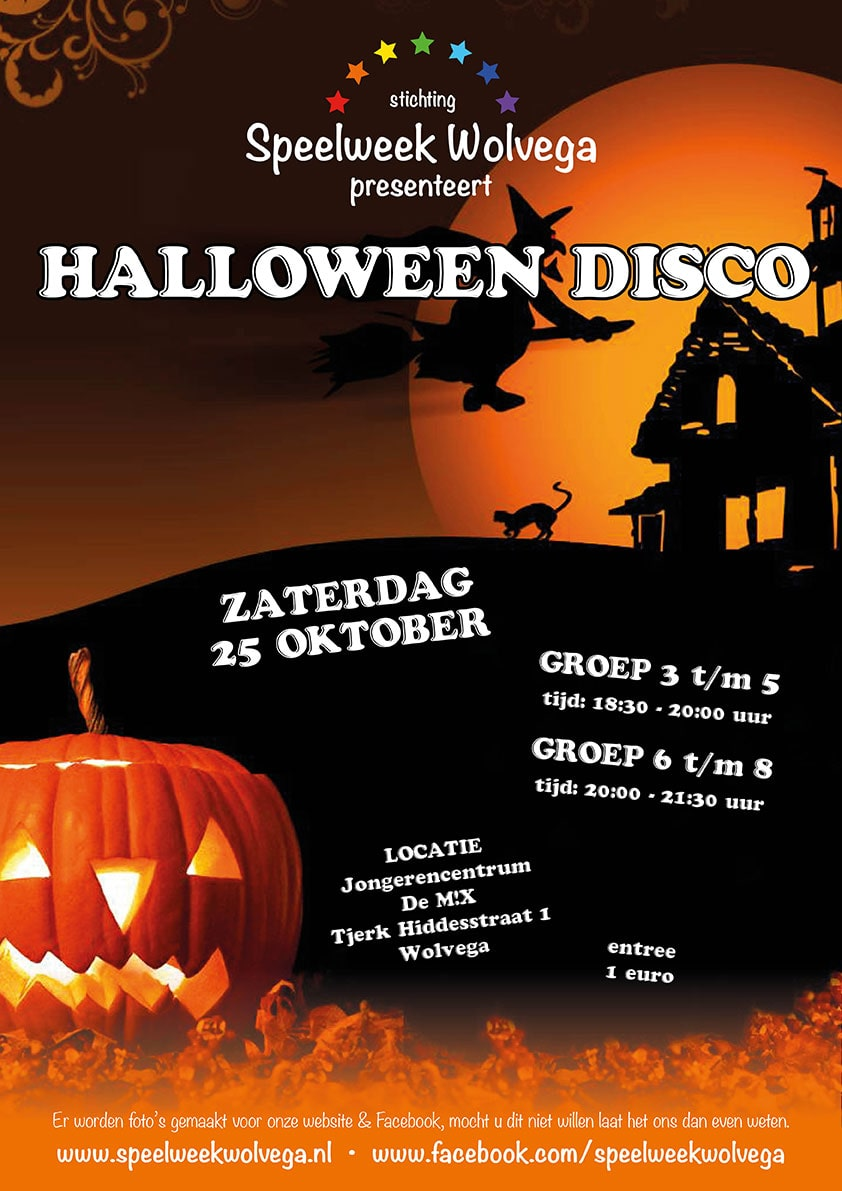 Halloween Disco | Speelweek Wolvega