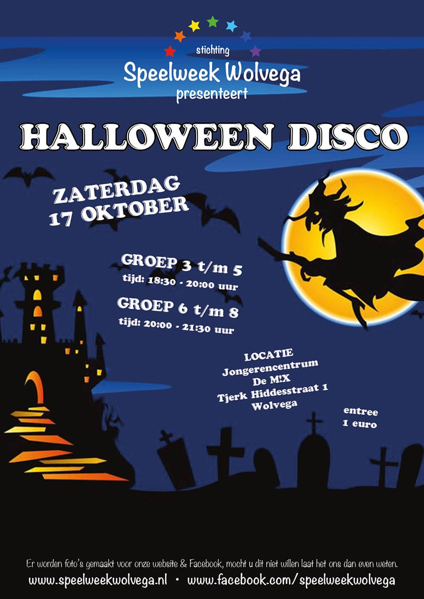 halloweendisco | Speelweek Wolvega