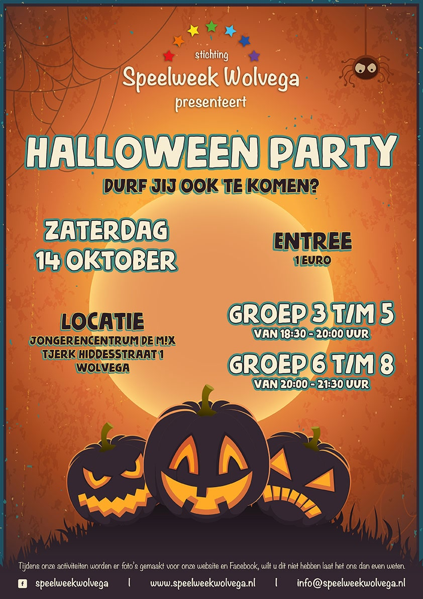 Halloween party | Speelweek Wolvega