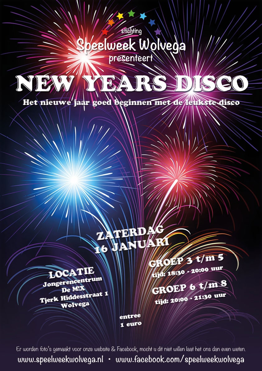 New Years Disco | Speelweek Wolvega