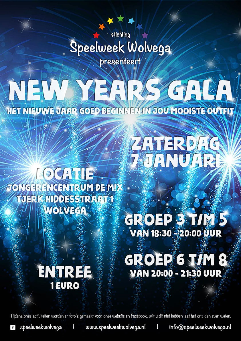 New Years Gala | Speelweek Wolvega