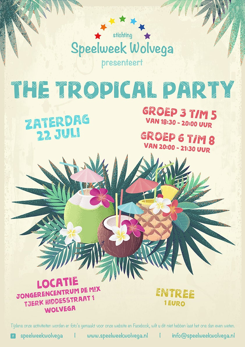 Tropical party | Speelweek Wolvega