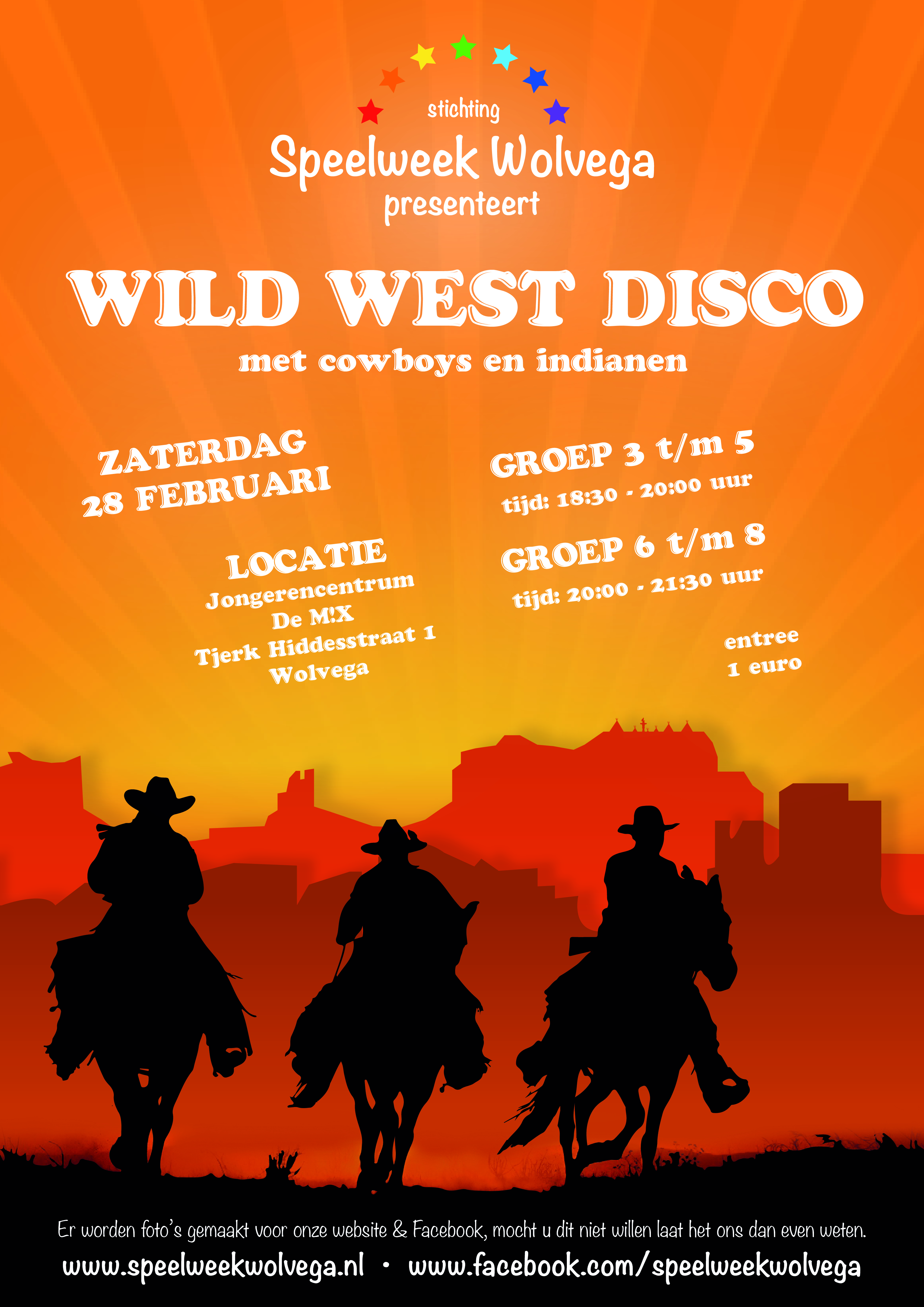Wild West Disco | Speelweek Wolvega